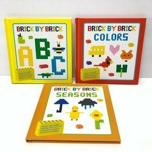 Brick By Brick 3 Pack ABC, Colors, and Season New